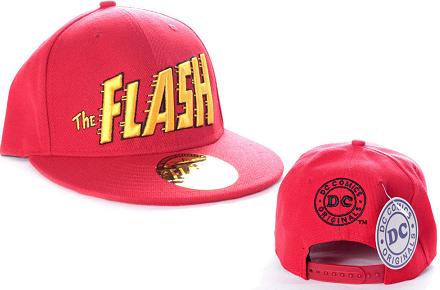 Gorra de beisbol de Flash