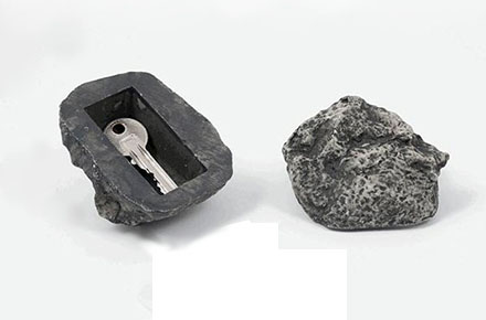 Roca para guardar la llave