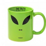 "Taza Alien ""The truth is out there"""