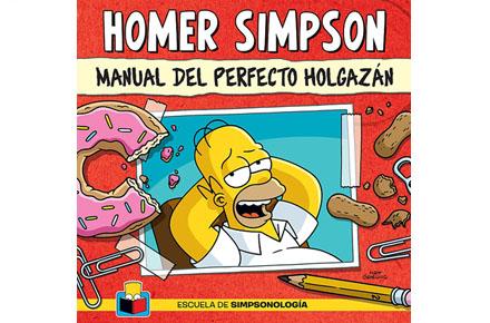 Homer Simpson, Manual del perfecto holgazán