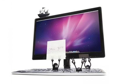 Piratas portanotas para tu teclado