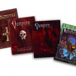 Pack de libros y pantalla de Vampiro