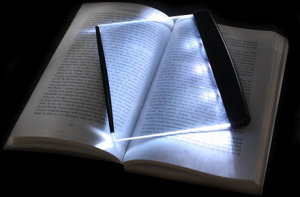 Panel LED para libros