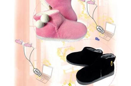 Botas con calefacción USB