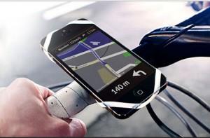 Finn, el soporte universal para móviles y bicicletas
