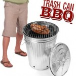 Cubo de basura barbacoa
