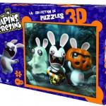 Puzzle 3D de los conejos de Rayman