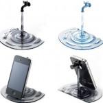 Soporte para iPhone con forma de grifo