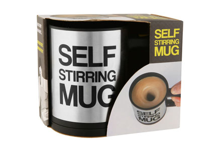 "Taza mezcladora ""Self Stirring Mug"""