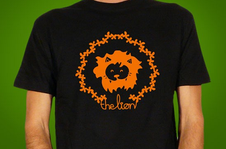 "Camiseta ""The Lion"""