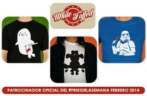 Nuevo sorteo del #FrikiDeLaSemana para Febrero patrocinado por White Faffed