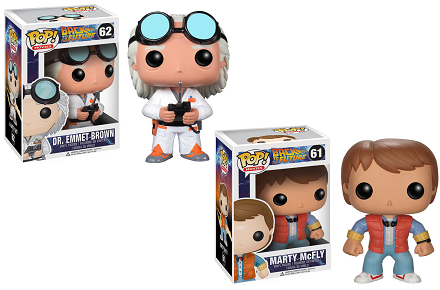 Figuras Funko Pop de Regreso al Futuro