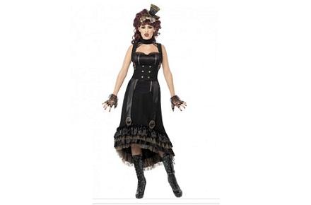 Disfraces Frikis Carnavales 2014: Disfraz vampiresa steampunk