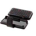 Funda de cuero para iPhone con teclado inalámbrico