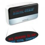 Reloj despertador donación wifi