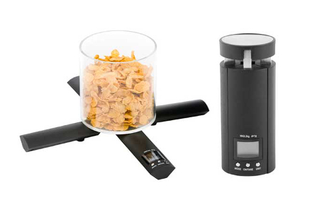 Báscula plegable de precisión digital para la cocina