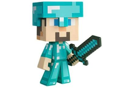 Figura de minecraft diamond Steve