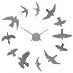 Reloj adhesivo de pared Birds