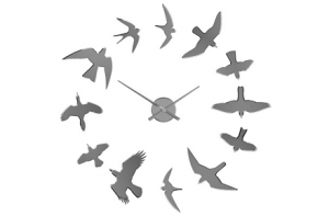 "Reloj de pared ""Birds"""