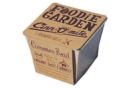 Jardín para sibaritas: albahaca dulce