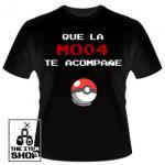 "Camiseta Pokemon ""Que la MO04 te acompañe"""