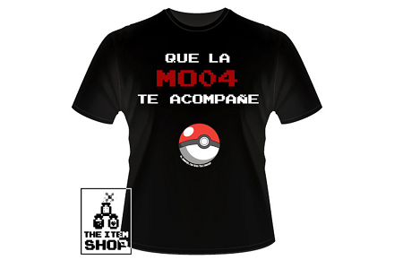 "Camiseta ""Que la MO04 te acompañe"""
