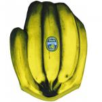 Manopla con forma de plátano
