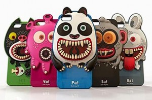 Fundas de monstruos para iPhone 5