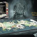 Puzzle 4D del mapa de Poniente, Juego de Tronos