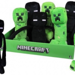 Peluches de Minecraft, Enderman y Creeper