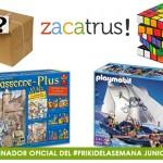 Vuelve el #FrikiDeLaSemana para el mes de junio patrocinado por Zacatrus