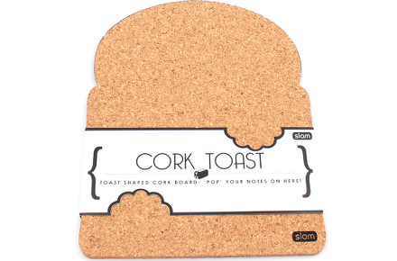 Corcho con forma de tostada