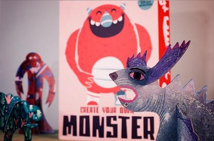 Kit Crea tu propio monstruo