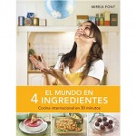 """Libro de """"El mundo en 4 ingredientes"""""""
