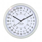 Reloj de pared de 24 horas
