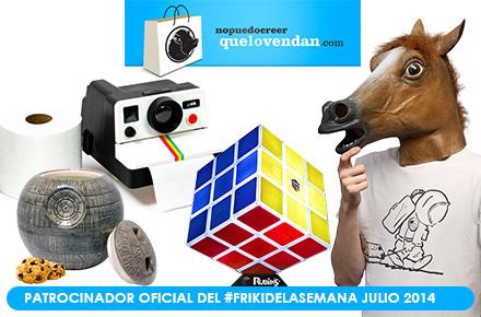 Nuevo FrikiDeLaSemana con 4 nuevos sorteos de la mano de QueLoVendan durante julio