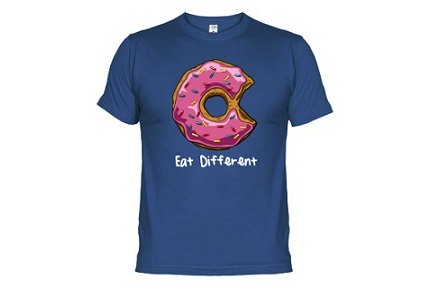 Camiseta Eat Different