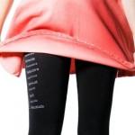 Leggings medias palabras para chicas