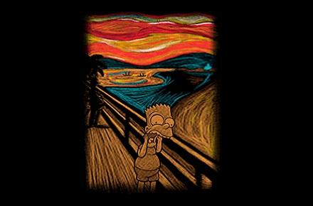 Camiseta Scream in Springfield