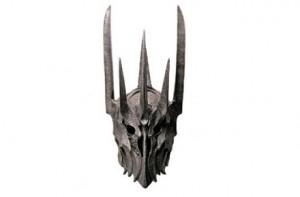 Réplica del casco de Sauron, El Señor de los Anillos