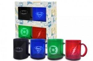 4 tazas de súper héroes