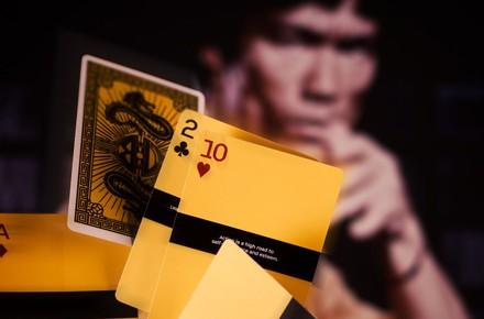 Cartas de póker de Bruce Lee