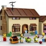 La casa de los Simpsons de Lego