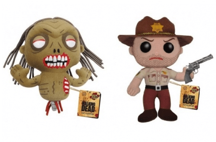 Pack de peluches de The Walking Dead