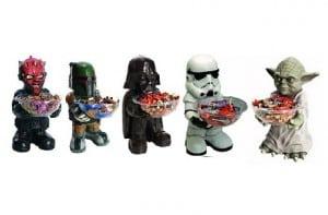 Star Wars te ofrece caramelos