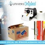 Nuevo #FrikiDeLaSemana y 4 sorteos en noviembre gracias a UniversOriginal