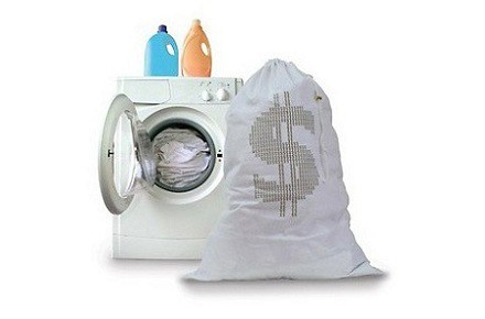 Bolsa de dinero para la ropa sucia