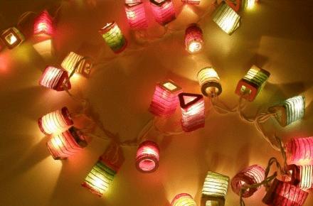 35 farolillos tradicionales