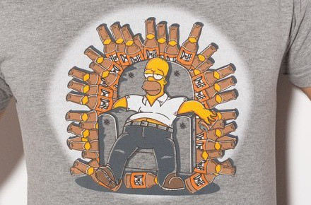 Camiseta Homer's Throne