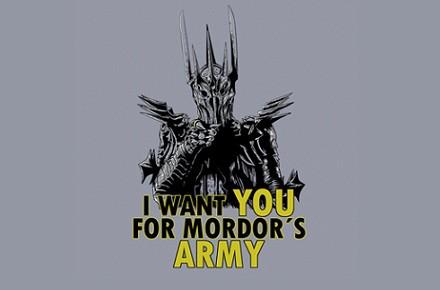 Camiseta Mordor's Army